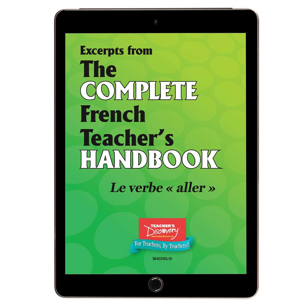 Le verbe aller - French - Book Excerpt Download