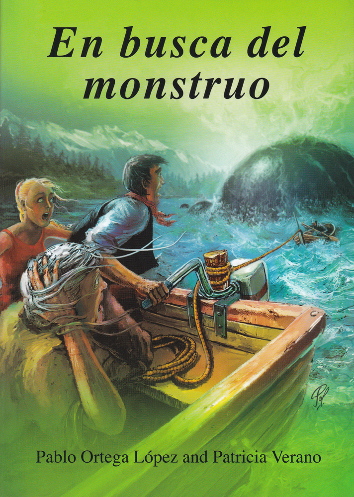 En busca del monstruo Spanish Level 4 Reader