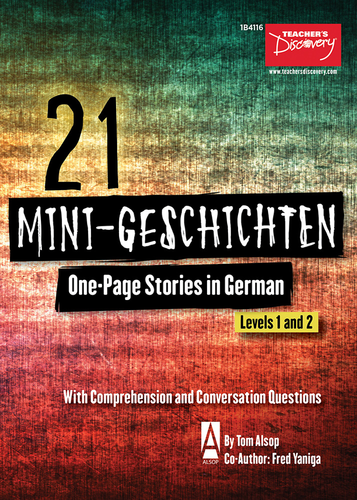 21 Mini-Geschichten German Level 2 Reader
