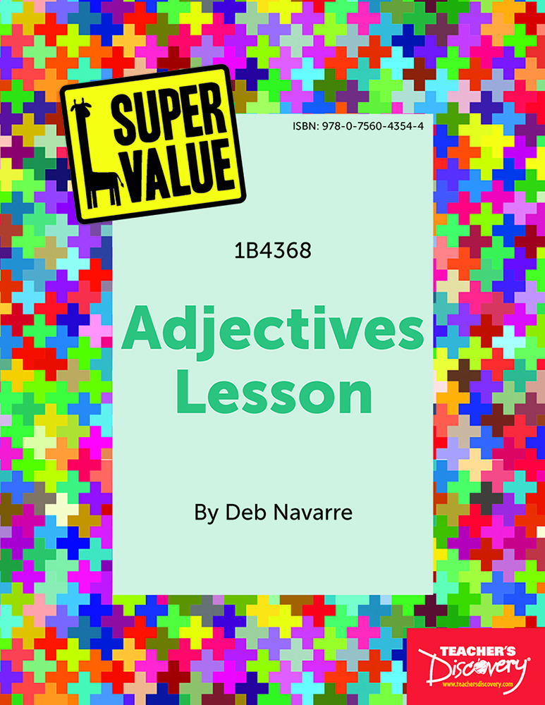 Super Value Adjectives Lesson Spanish