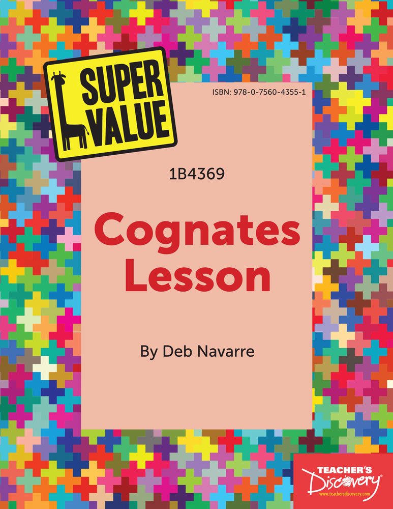 Super Value Spanish Cognates Lesson Spanish Teachers Discovery