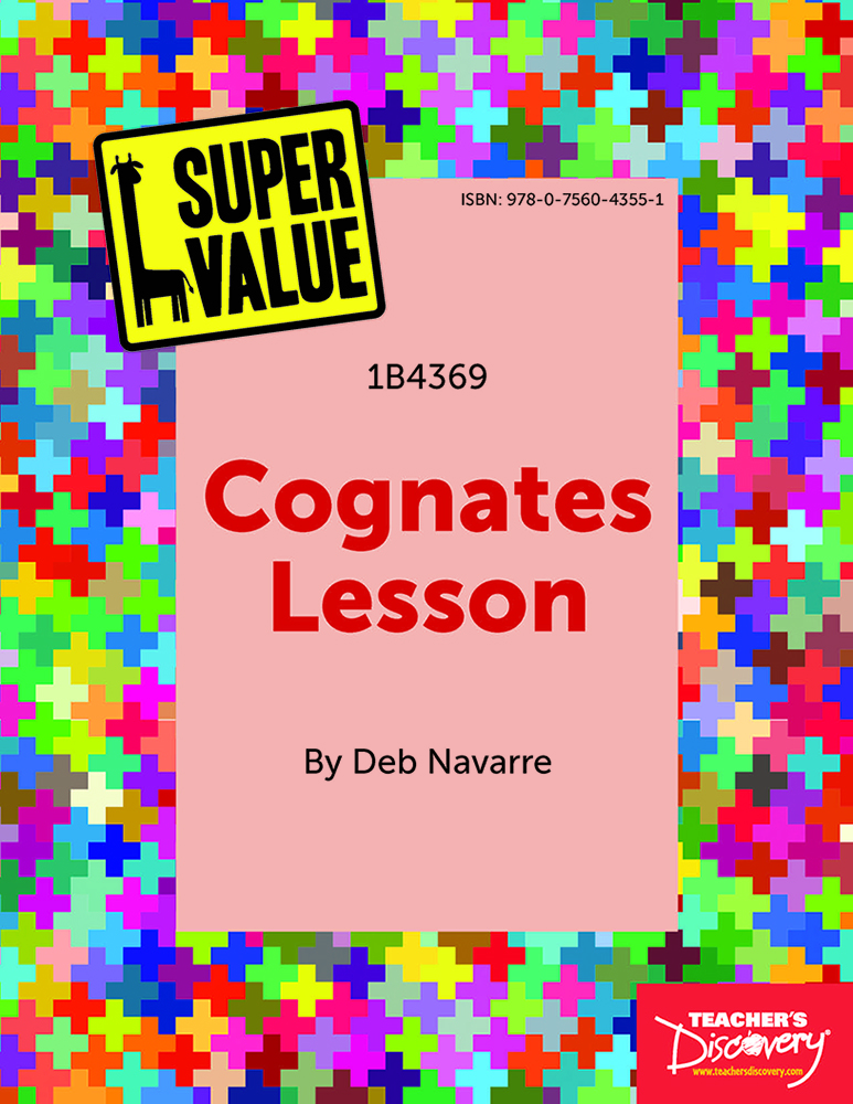 Super Value Cognates Lesson Spanish