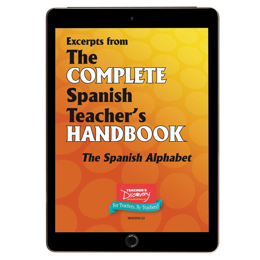 The Spanish Alphabet - Book Excerpt Download