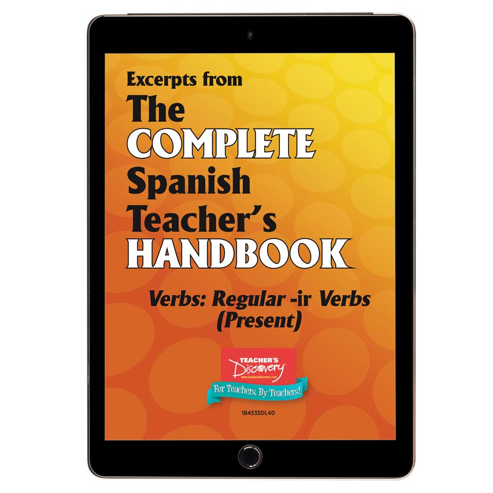 Verbs: Regular -ir Verbs (Present) - Spanish - Book Excerpt Download
