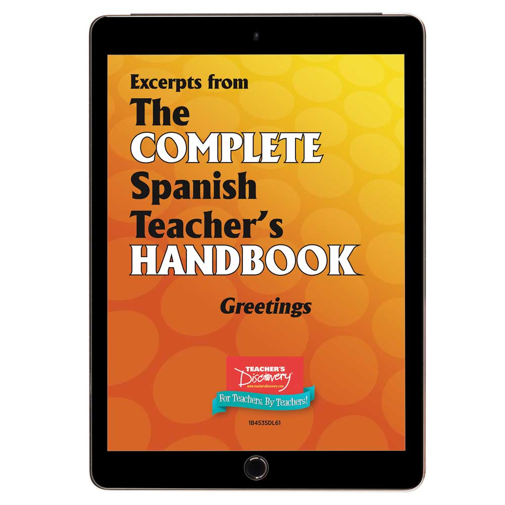 Vocabulary: Greetings - Spanish - Book Excerpt Download