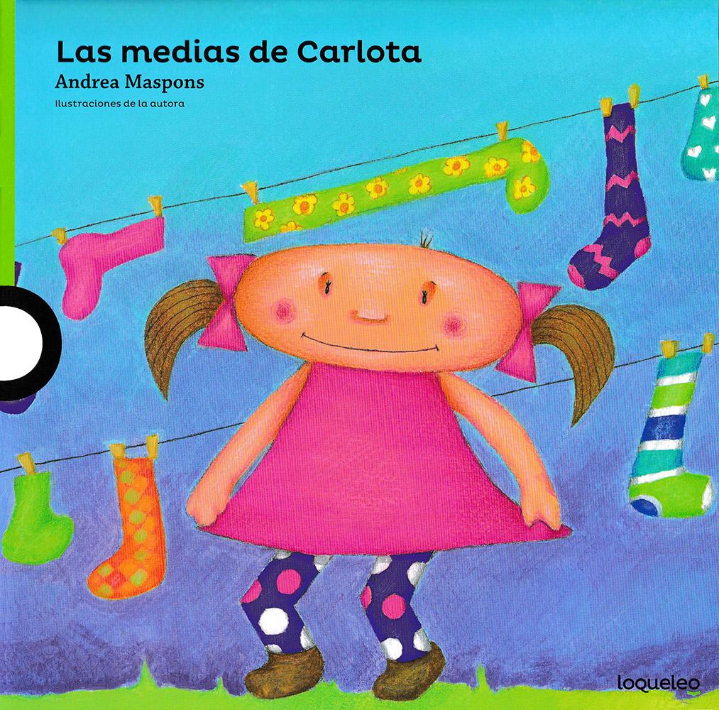 Las medias de Carlota Spanish Book