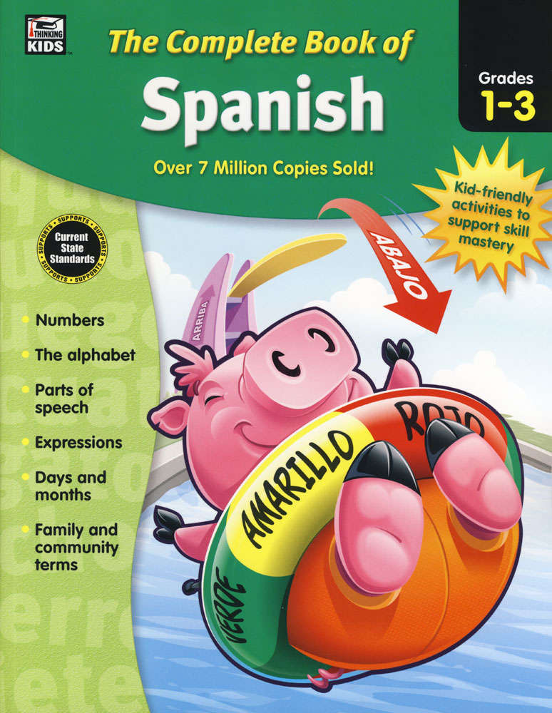 Complete Book of Spanish Activities Grades 1-3