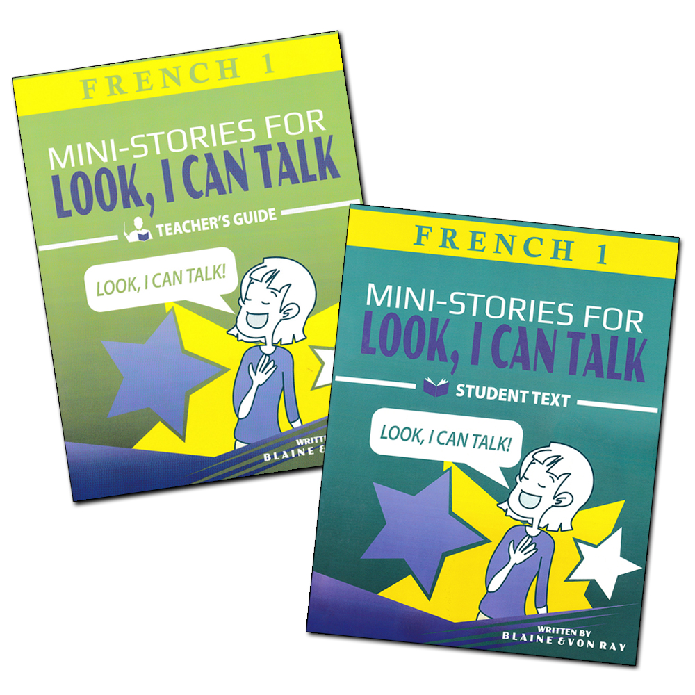 Workbooks quia workbook : Mini-Stories for Look, I Can Talk French 1 , French: Teacher's ...