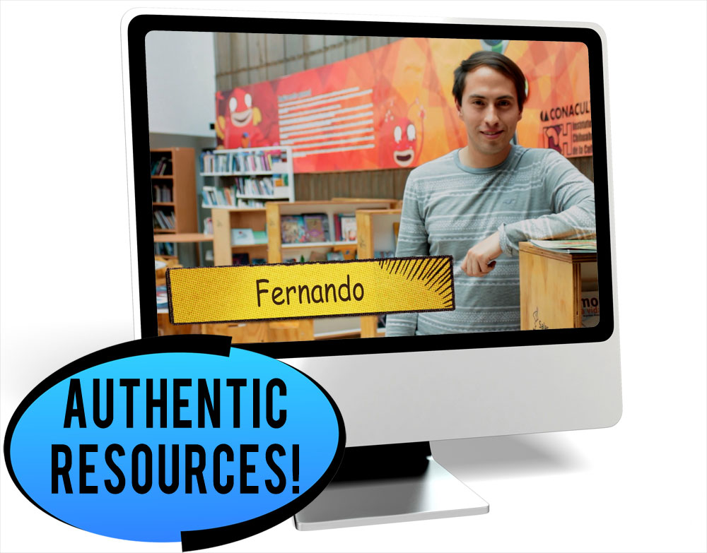 Fernando Pastimes Intermediate-Mid Spanish IPA Pack - REMOTE LEARNING DOWNLOAD