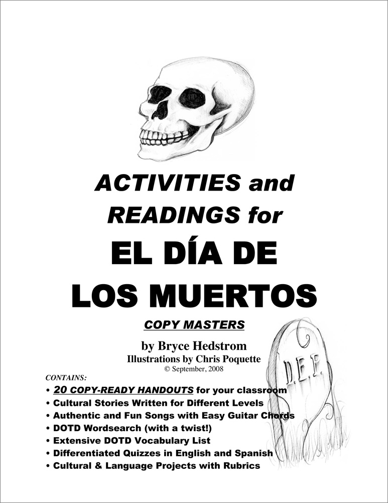 Activities and Readings for EL DÍA DE LOS MUERTOS Packet Download