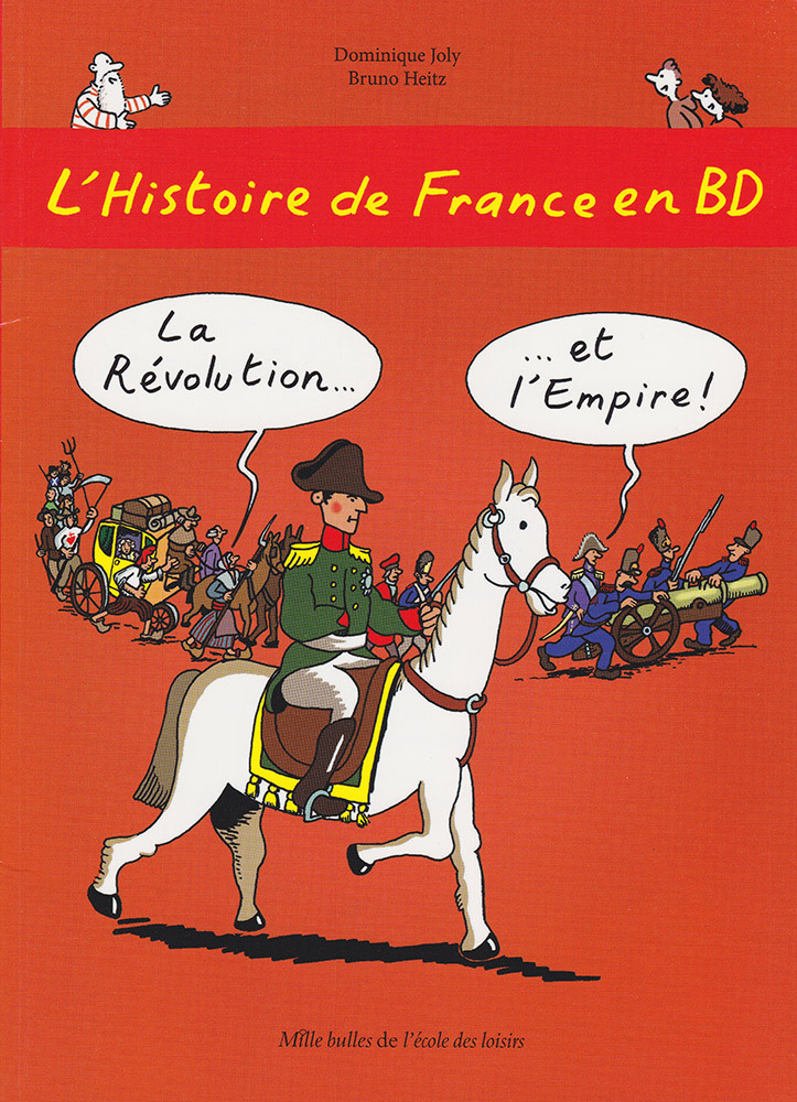 L'Histoire de France en BD Volume 5 French Level 2 Graphic Novel