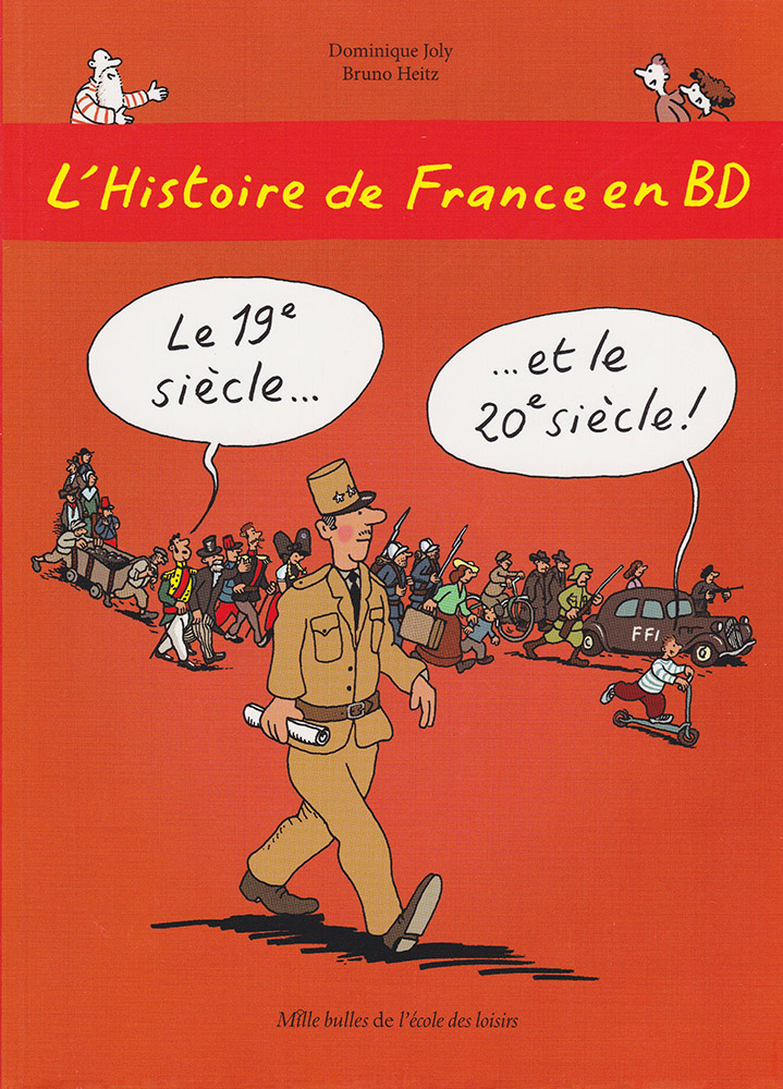 L'Histoire de France en BD Volume 6 French Level 2 Graphic Novel