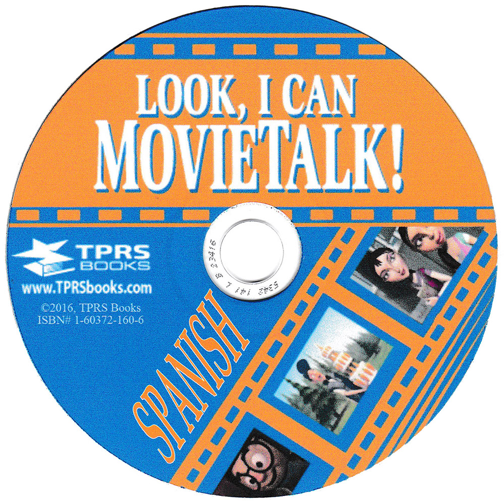 Look, I Can MovieTalk! Book on CD