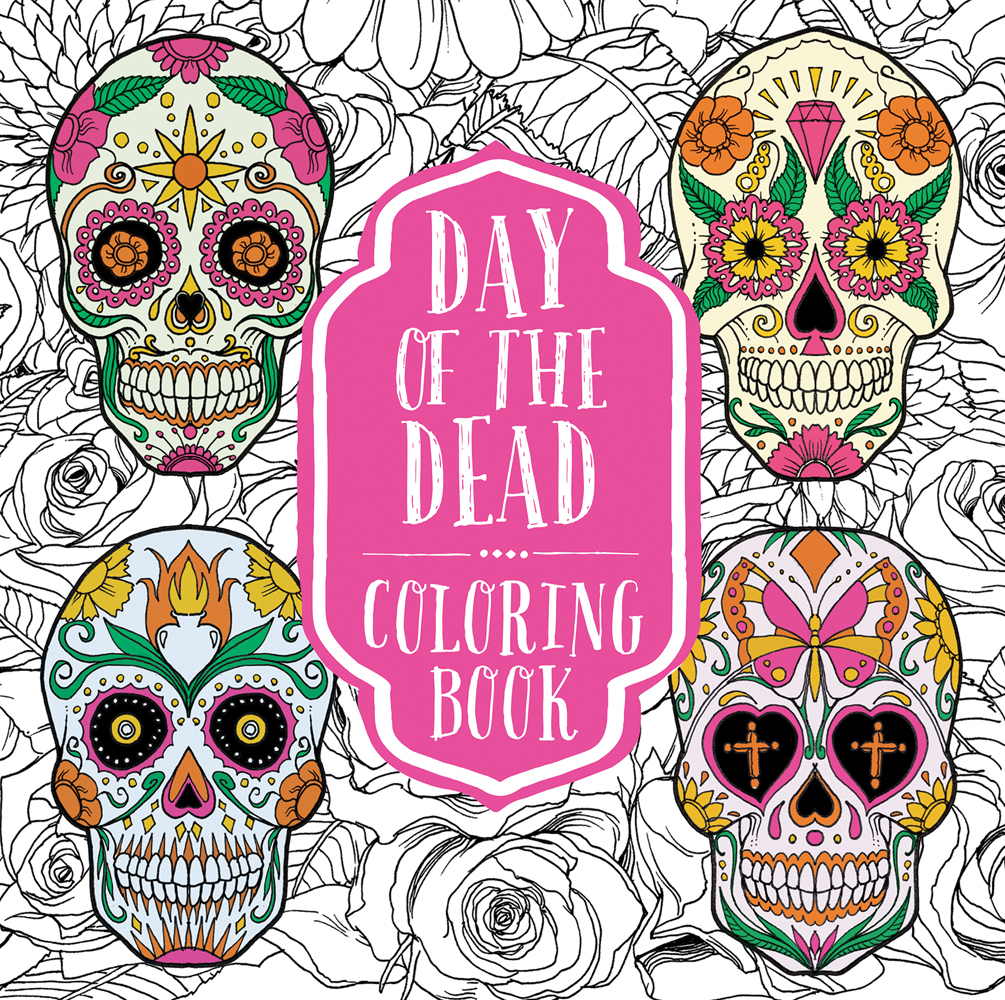 Day of the Dead Coloring Book, Spanish: Teacher\'s Discovery
