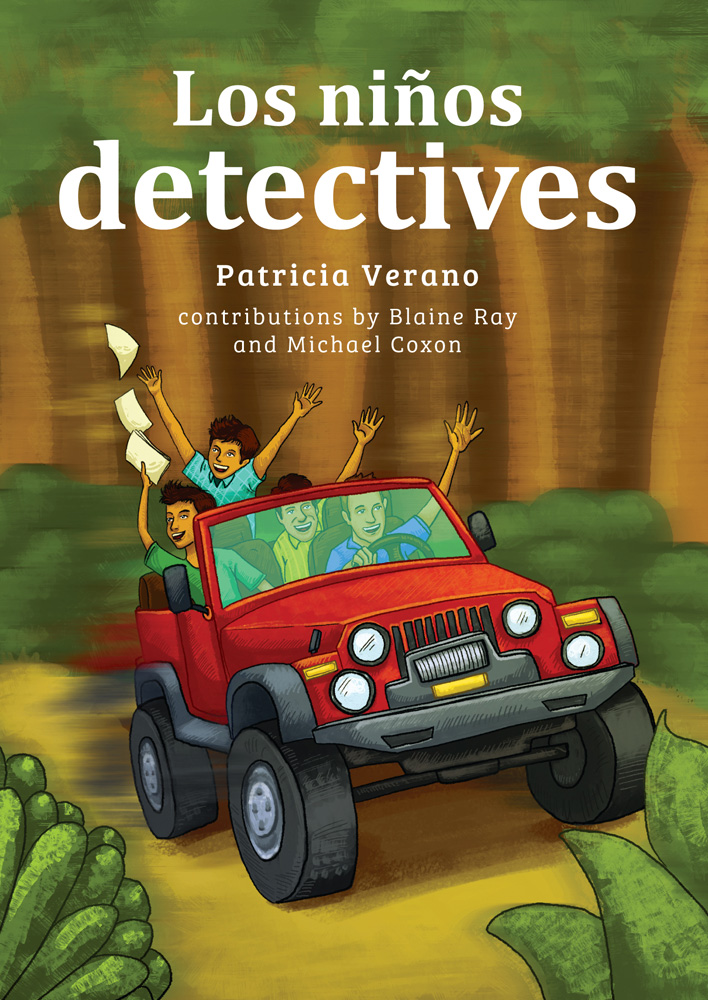 Los niños detectives Spanish Level 1 Reader