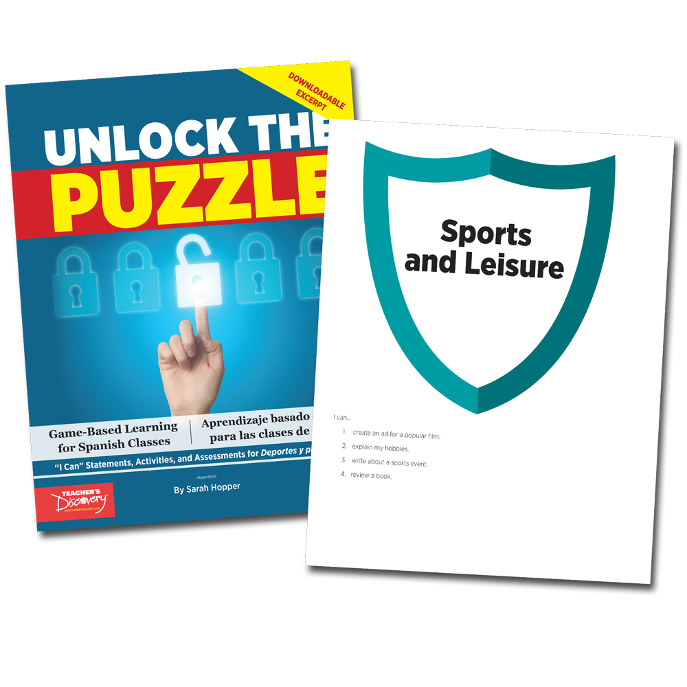 Unlock the Puzzle: Deportes y pasatiempos - Book Excerpt Download