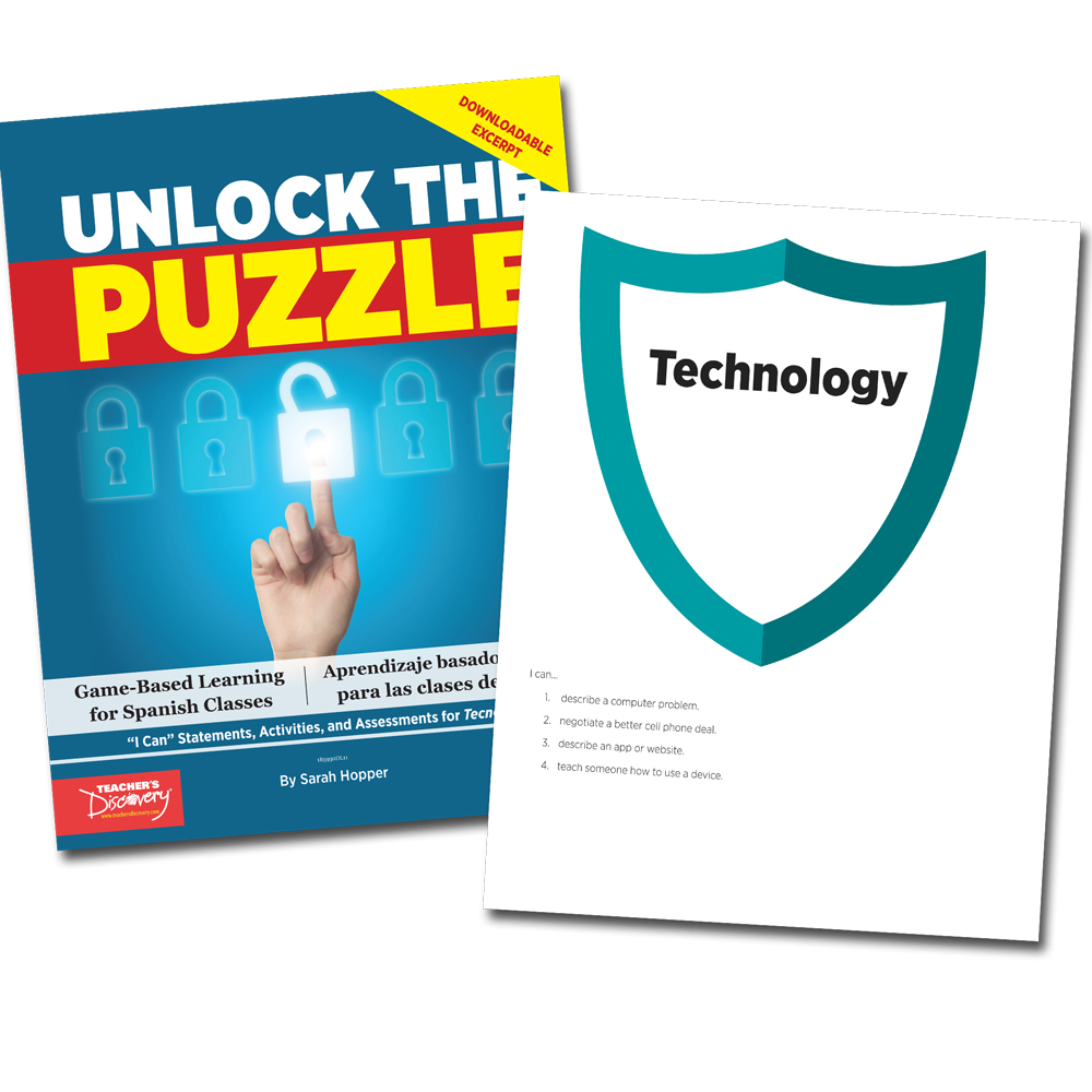 Unlock the Puzzle: Tecnología - Book Excerpt Download