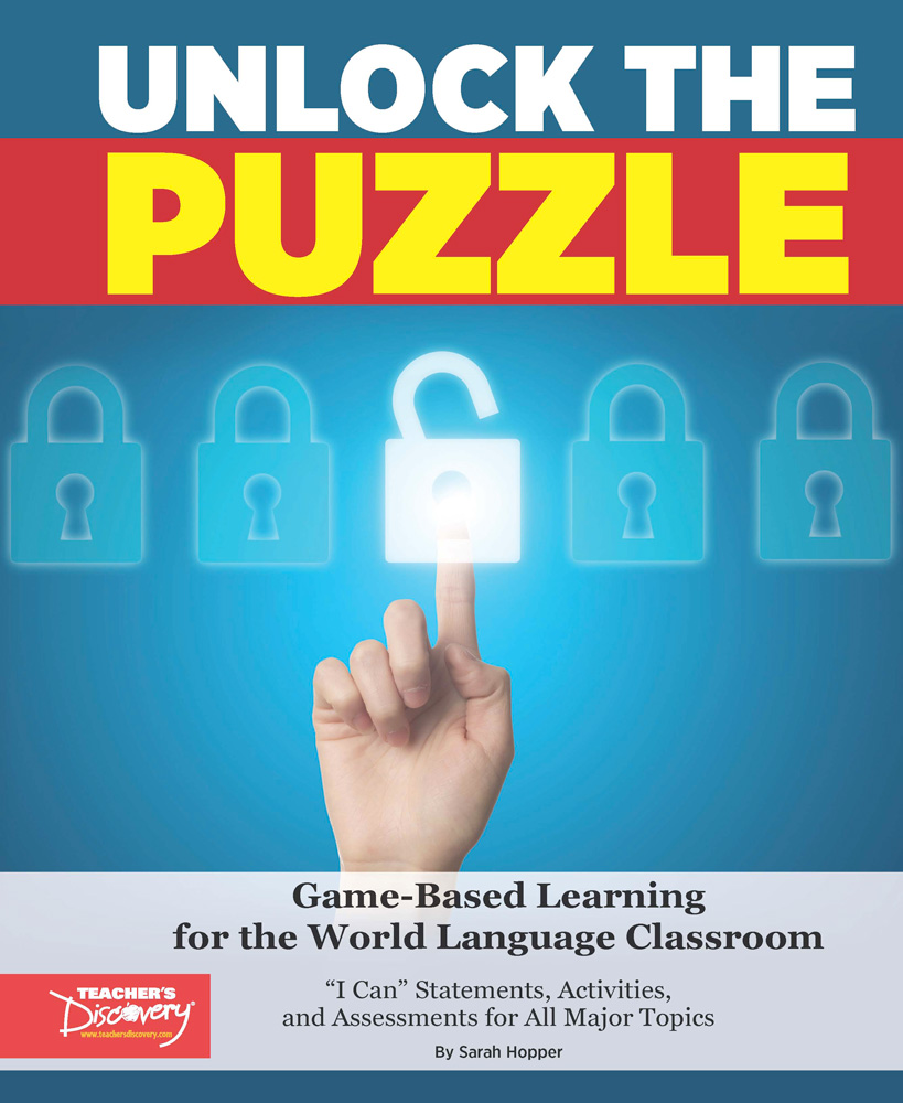 Unlock the Puzzle Spanish Book - Unlock the Puzzle Spanish Print Book