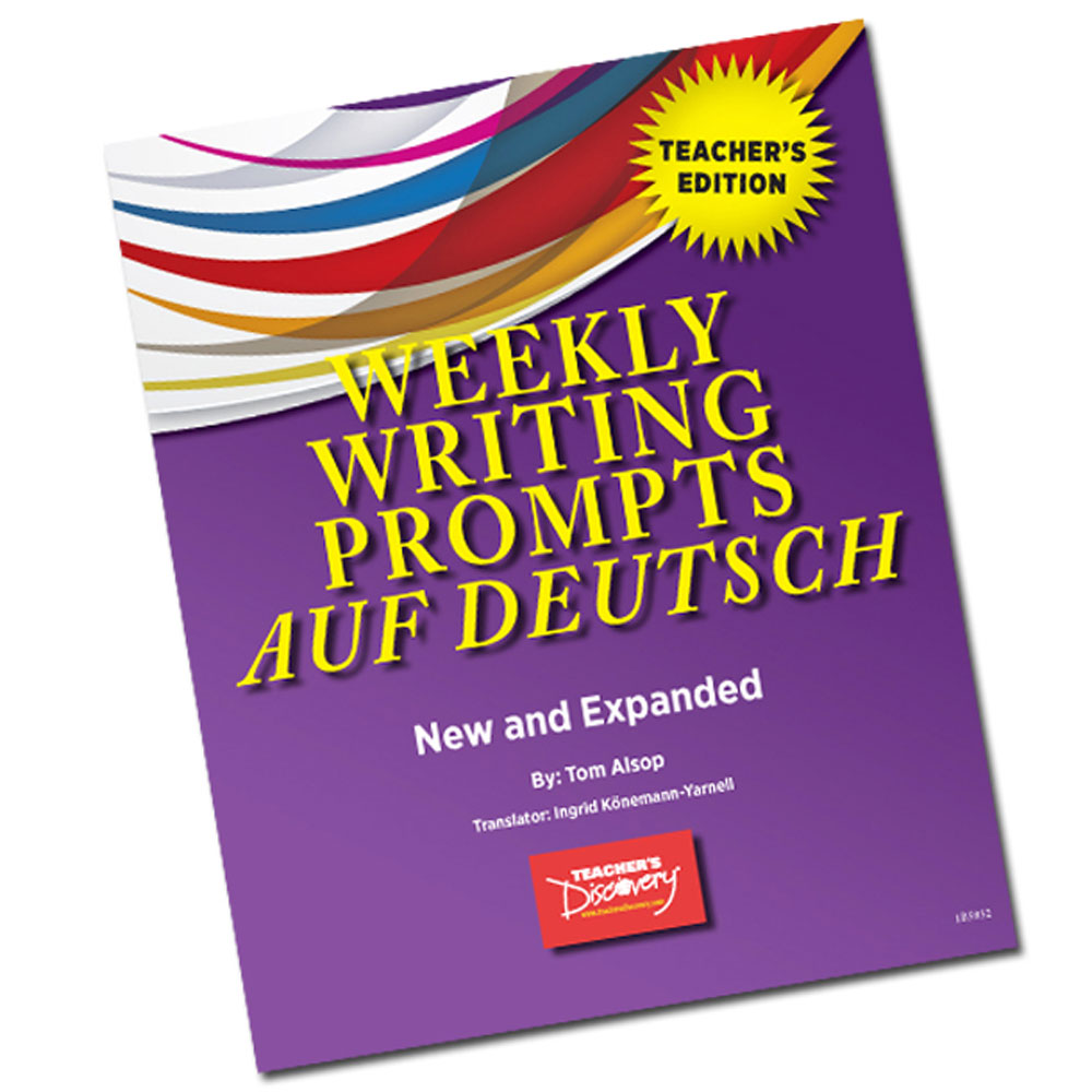 Weekly Writing Prompts auf Deutsch Level 1 Book