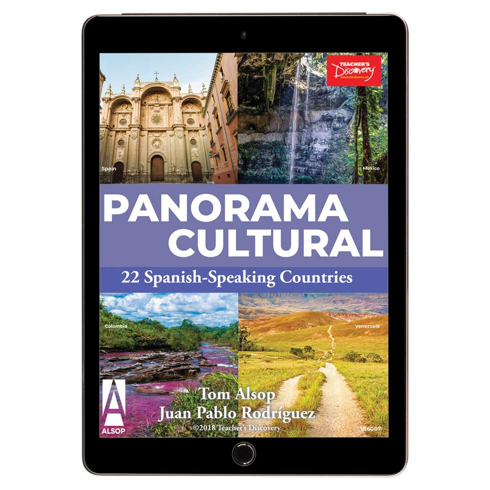 Panorama cultural: 22 Spanish-Speaking Countries Book - Panorama cultural: 22 Spanish-Speaking Countries Print Book