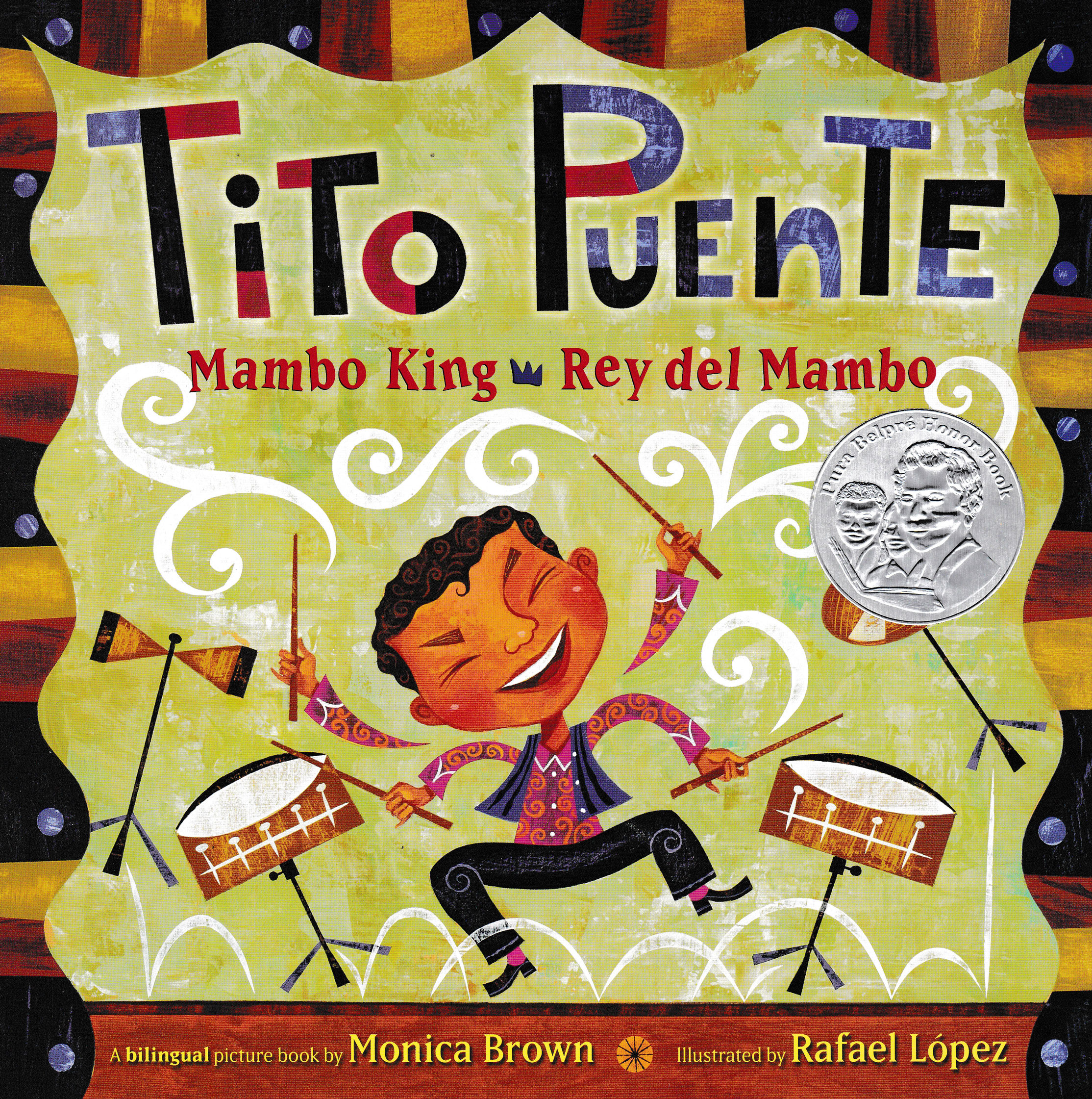Tito Puente Mambo King/Rey del Mambo Bilingual Picture Book