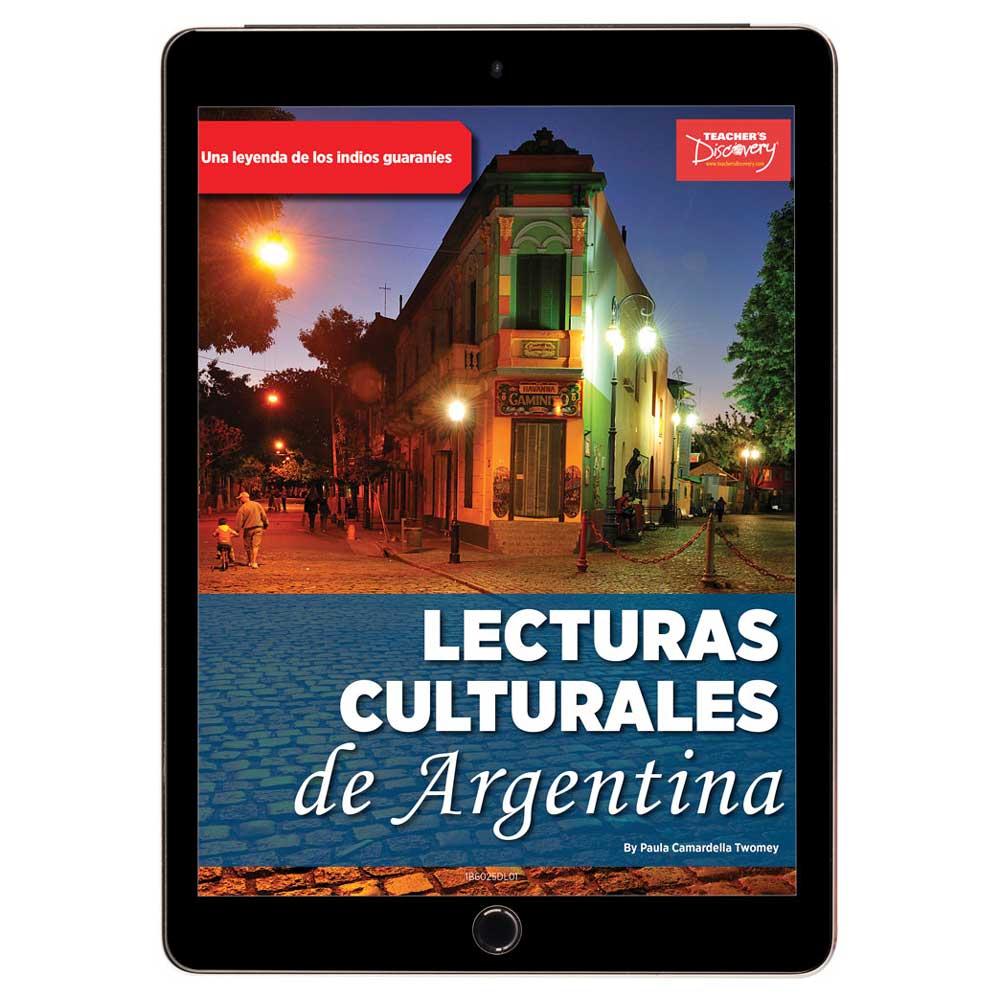 Lecturas culturales de Argentina: La leyenda de la yerba mate: una leyenda de los indios guaraníes Book Excerpt Download