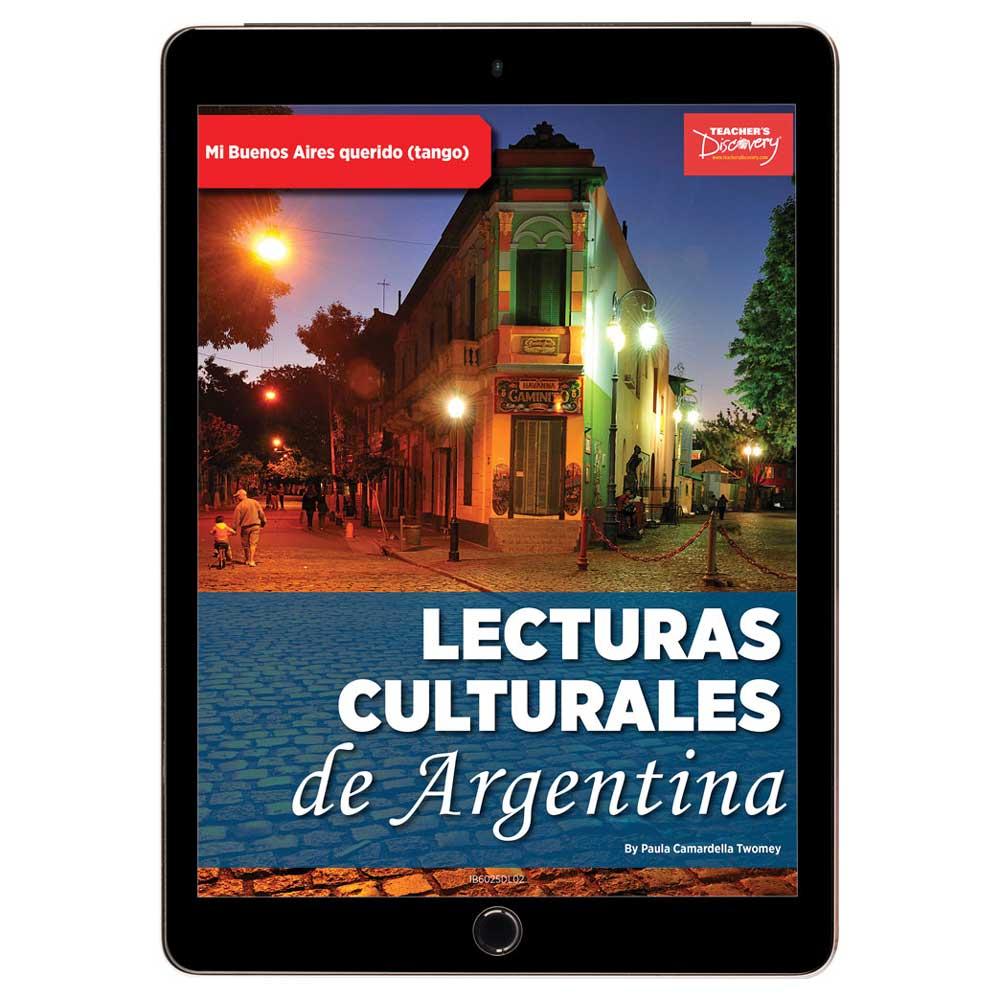 Lecturas culturales de Argentina: Mi Buenos Aires querido (Tango) Book Excerpt Download