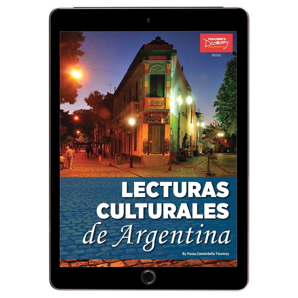 Lecturas culturales de Argentina Book - Lecturas culturales de Argentina Print Book