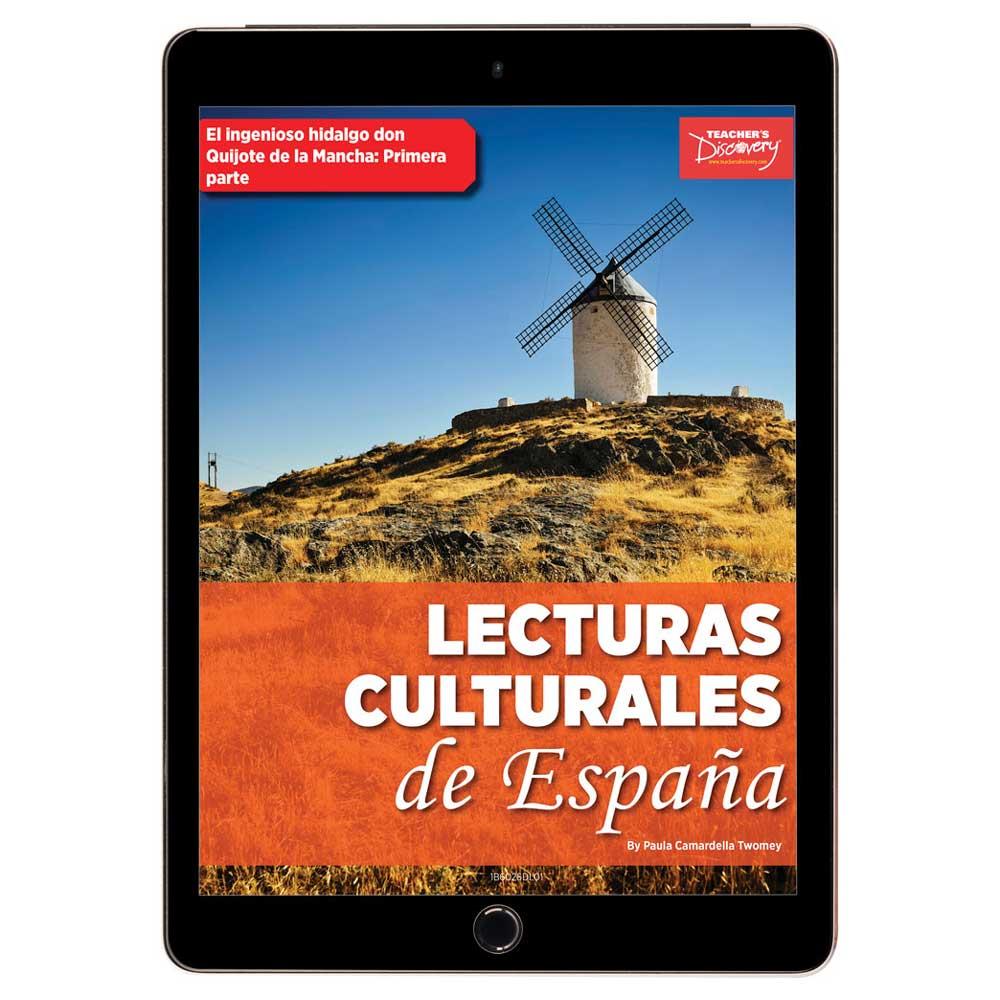 Lecturas culturales de España: El ingenioso hidalgo don Quijote de la Mancha: Primera Parte Book Excerpt Download