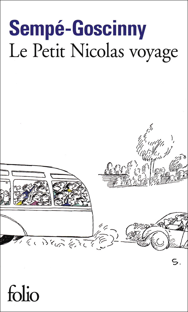 Le petit Nicolas voyage French Book