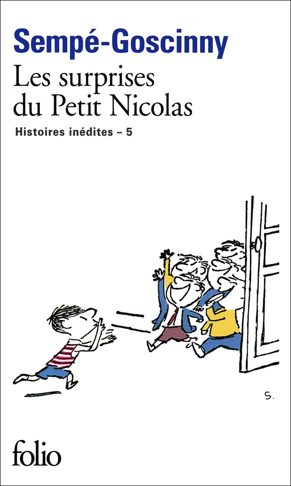 Les surprises du petit Nicolas French Book