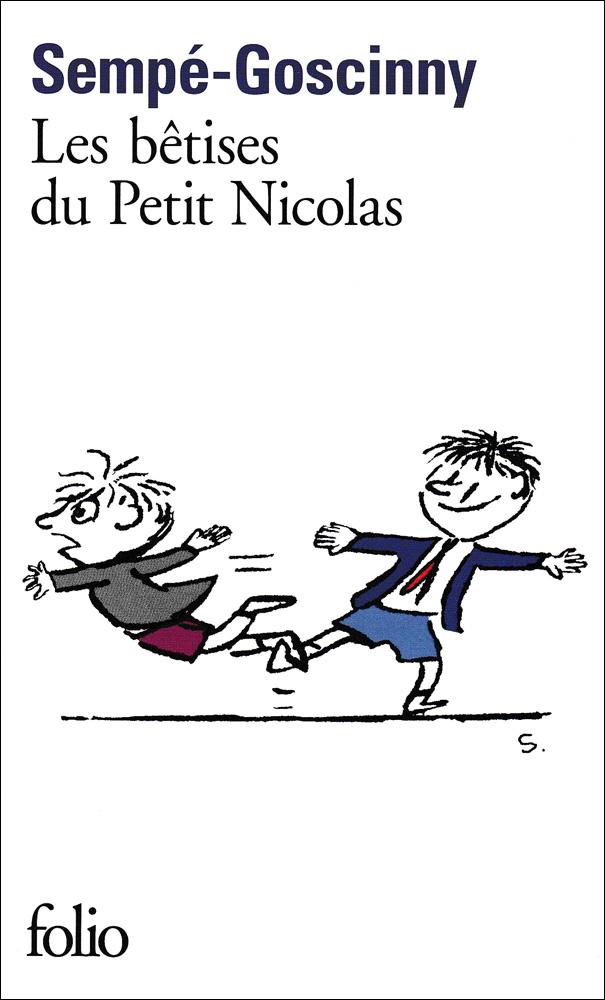 Les bêtises du petit Nicolas French Book