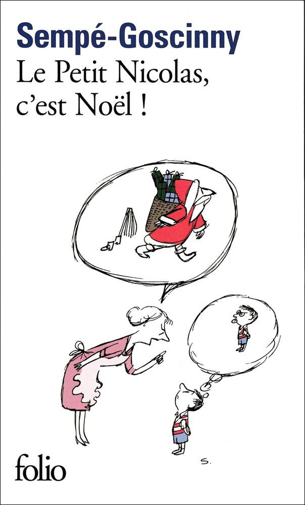 Le petit Nicolas, c'est Noël ! French Book