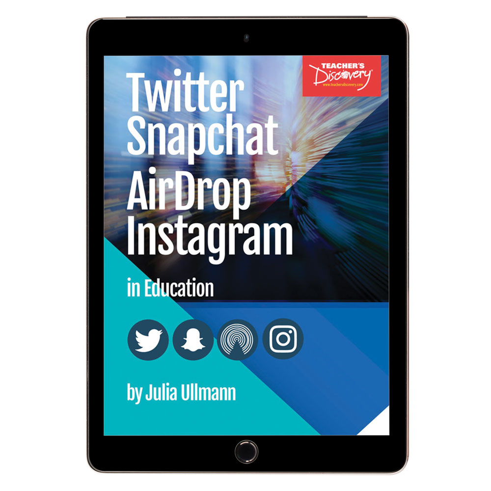 Twitter Snapchat AirDrop Instagram in Education Book