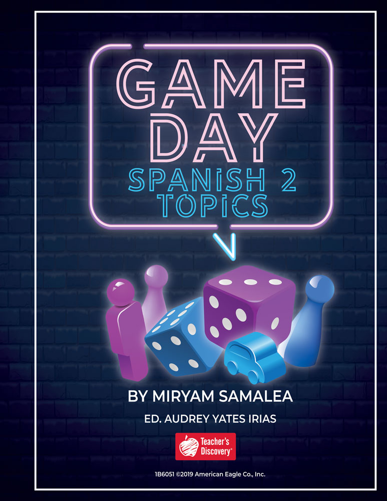 Game Day Spanish 2 Topics Book