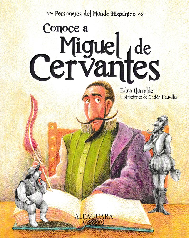 Conoce a Miguel de Cervantes Spanish Book