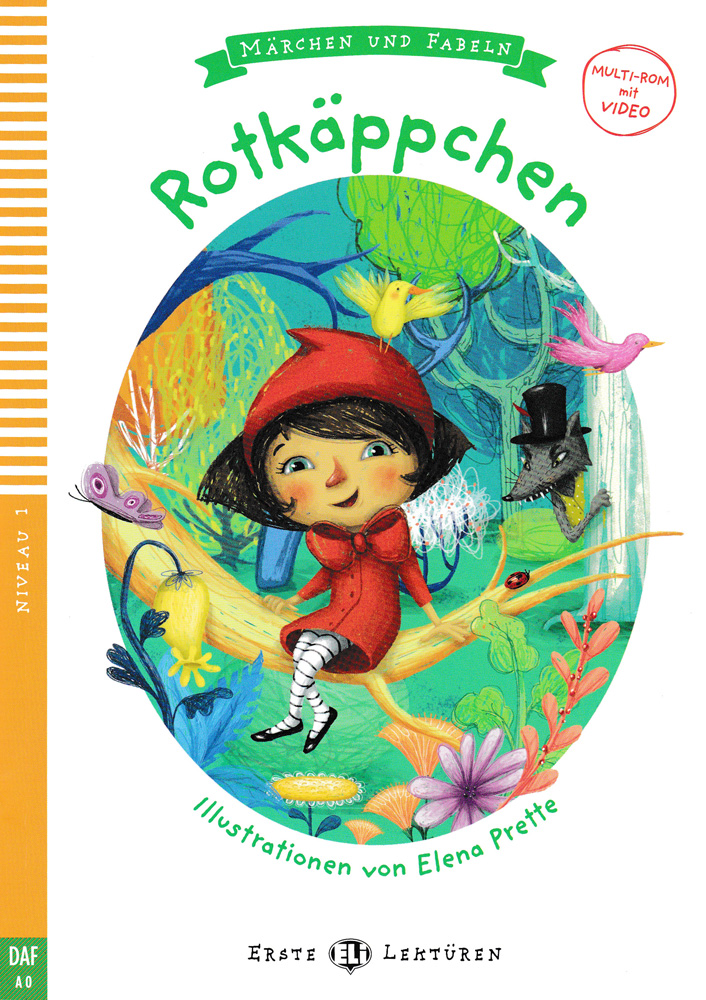 Rotkäppchen German Level 1 Reader