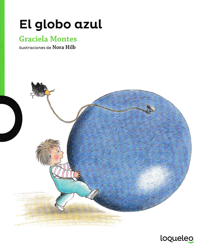 El globo azul Spanish Little Story Book