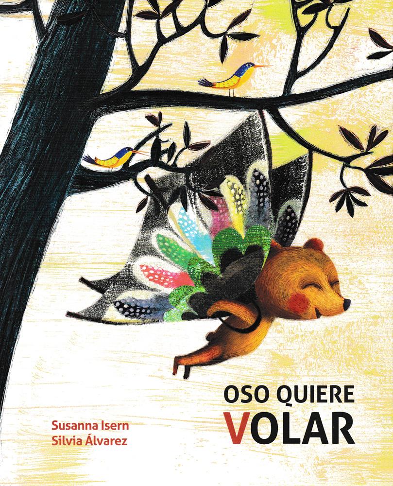 Oso quiere volar Spanish Book