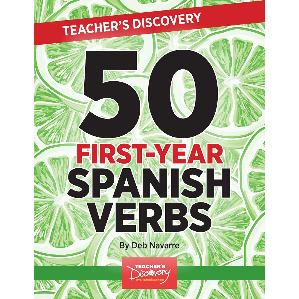 50 First-Year Spanish Verbs Book