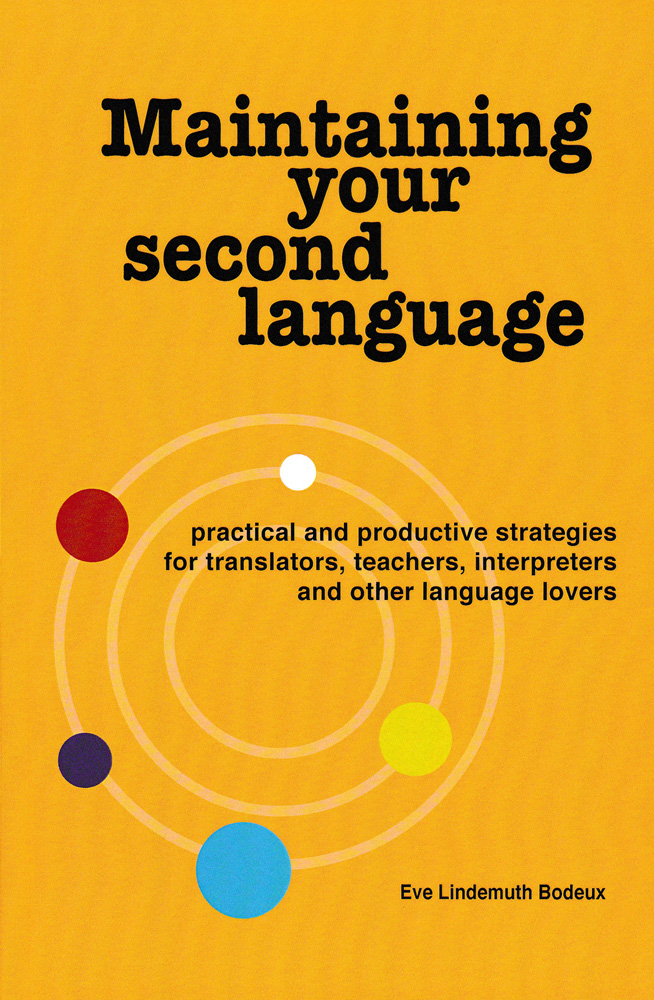 Maintaining Your Second Language Book