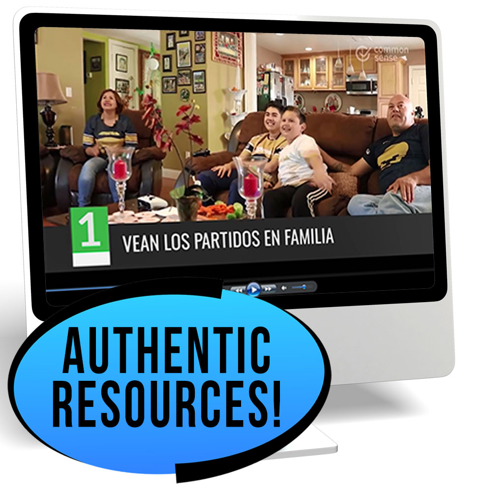 Los aficionados al fútbol Novice/High Spanish IPA Pack - REMOTE LEARNING DOWNLOAD
