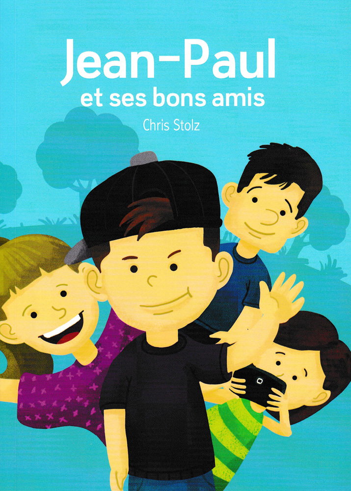 Jean-Paul et ses bons amis French Level 1 Reader