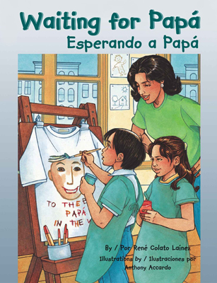 Waiting for Papá/Esperando a Papá Bilingual Picture Book