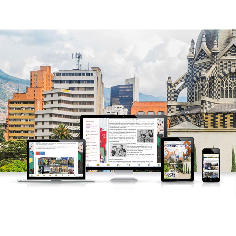 Voces® Nuestra historia 3 Digital Resource Subscription