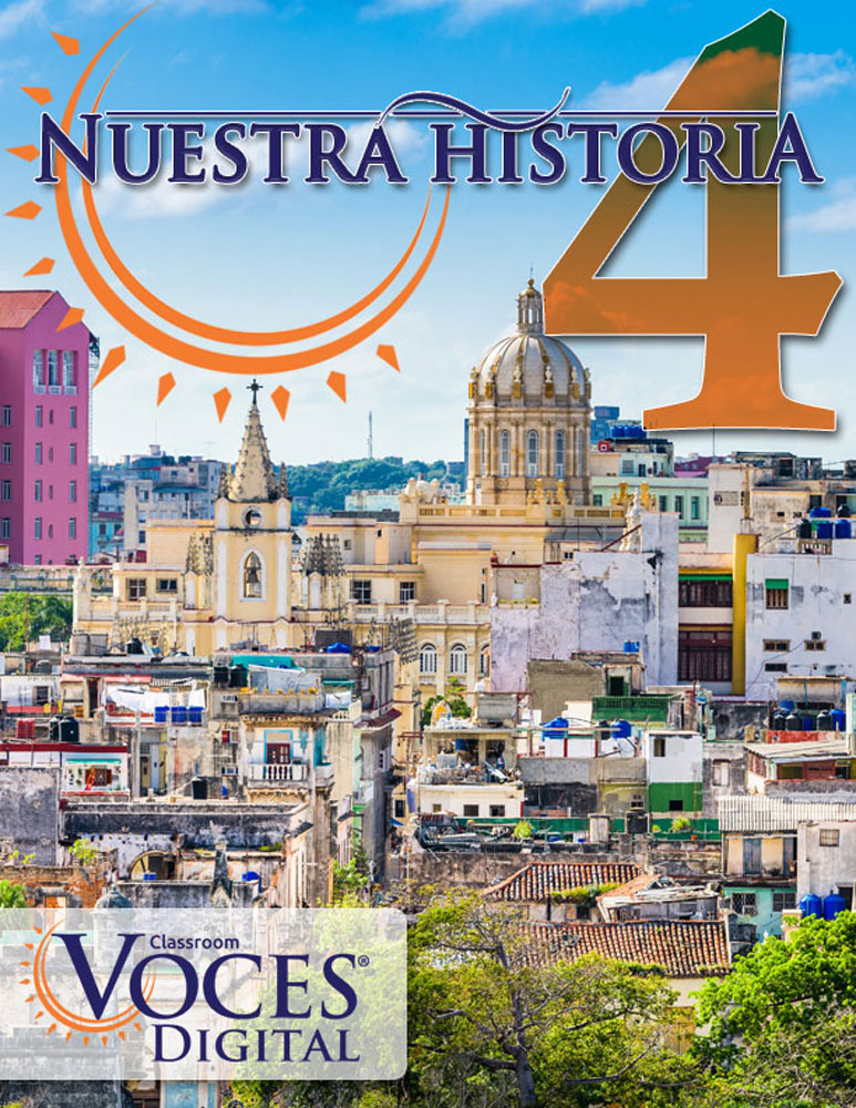 Voces® Nuestra historia 4 Digital Resource Subscription