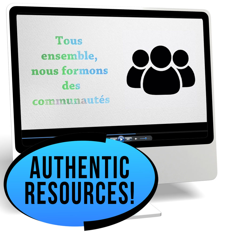 Les réseaux sociaux Novice/High French IPA Pack - DIGITAL RESOURCE DOWNLOAD  - Hybrid Learning Resource