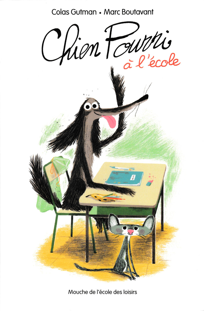Chien Pourri à l'école French Level 3 Novel