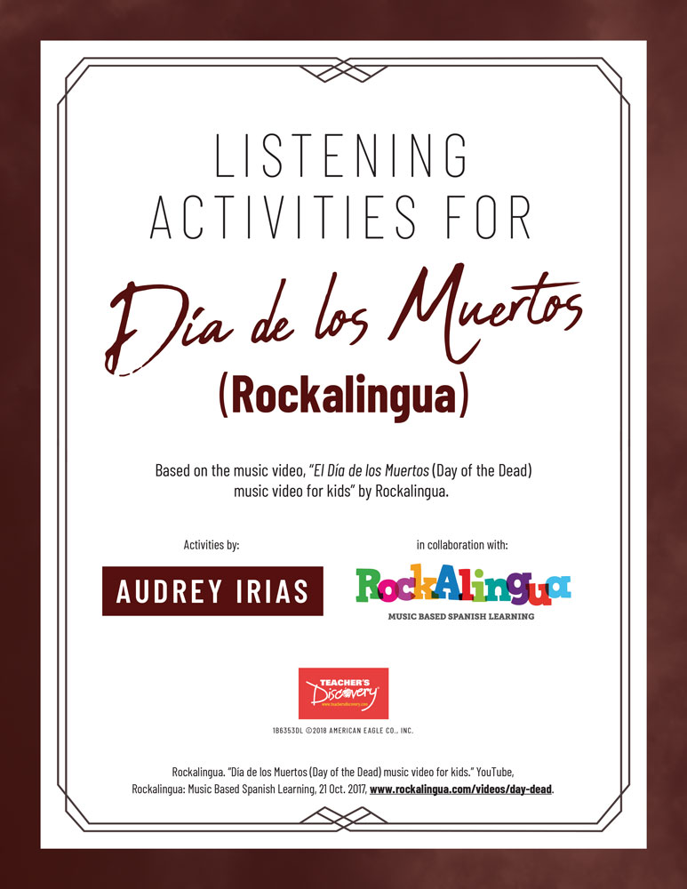Día de los Muertos (Rockalingua) Listening Activities Download