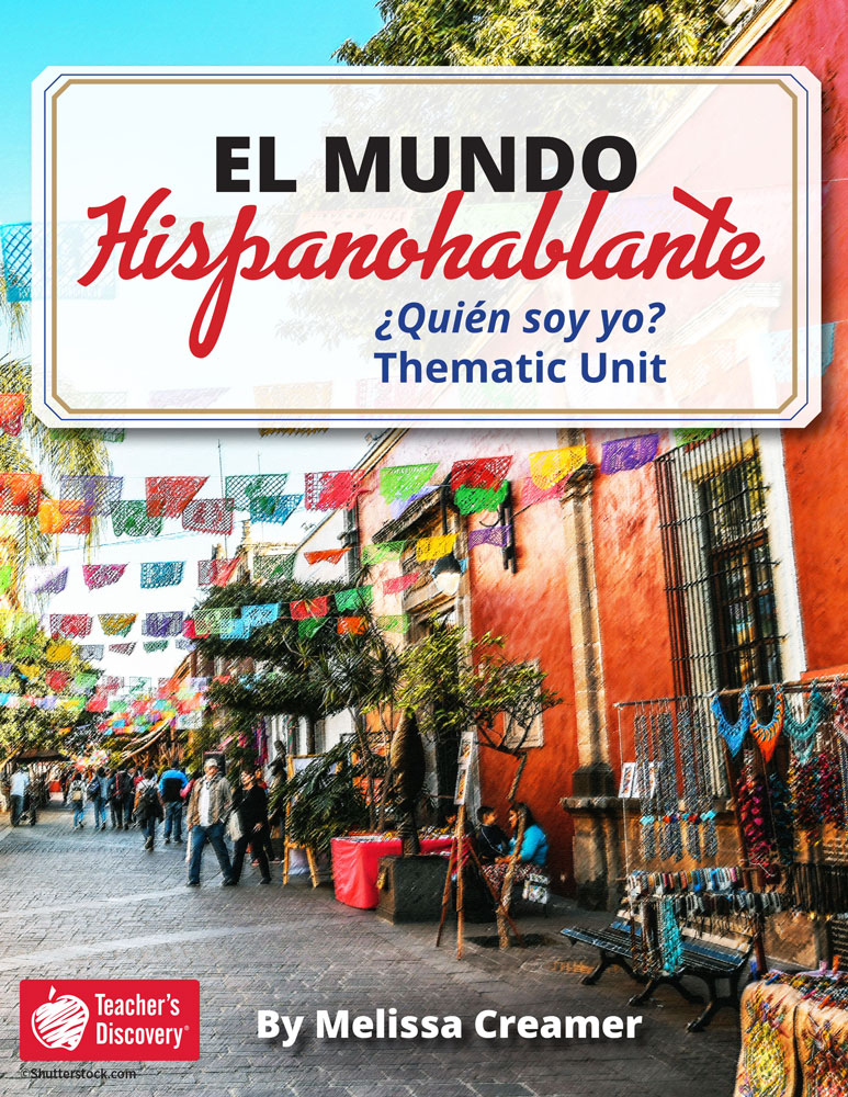 El mundo hispanohablante: ¿Quién soy yo? Spanish Thematic Unit Download